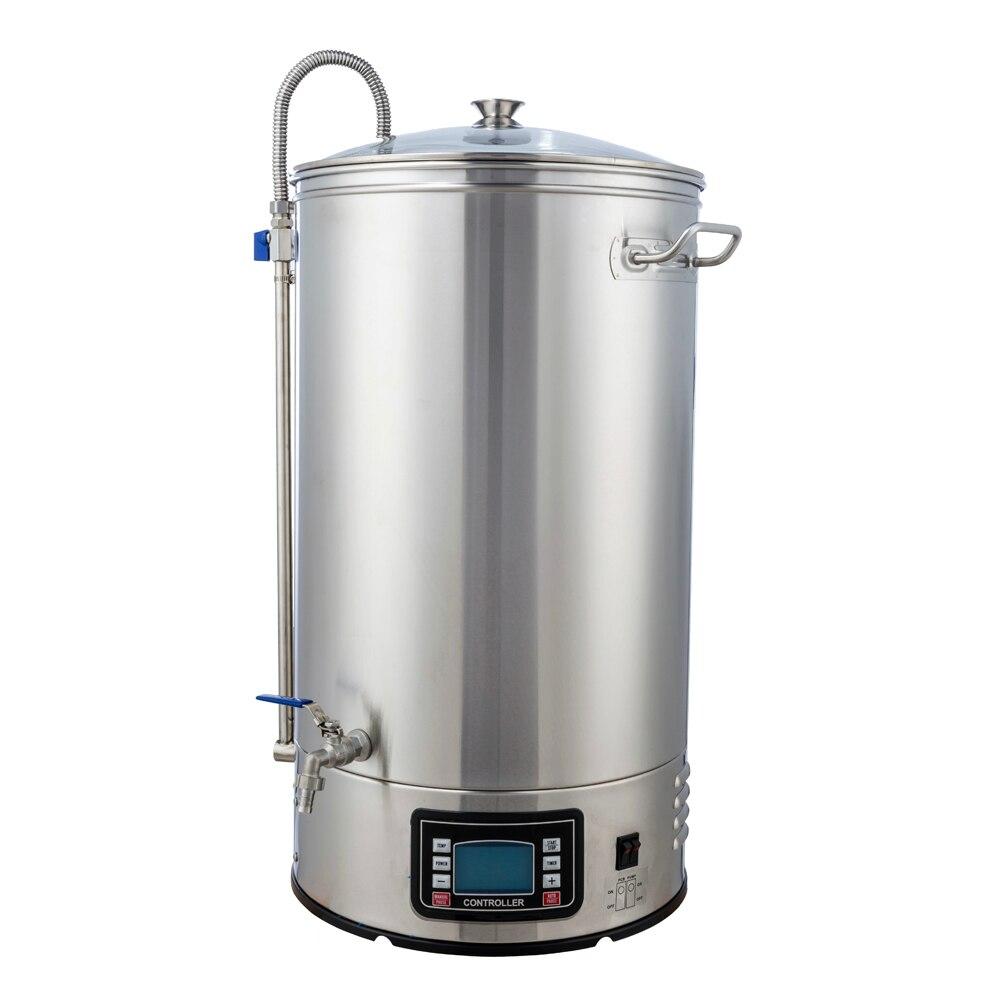 40 ליטר מבשלת מיקרו מבשלת בירה מתבשל קומקום חשמלי, בית מבשלת