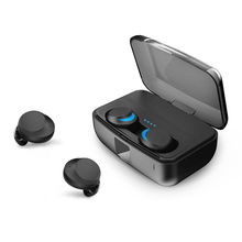 Ipx8 Tws Waterproof Wireless Earphone Bluetooth5.0 Press Control Headset Mini In-Ear Earbuds Auto Pairing