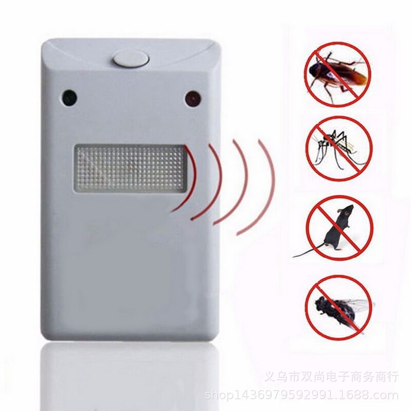 Mouse-Repellent Electronic-Mice Anti-Mosquito Pest-Control-Rodent Eu-Plug title=