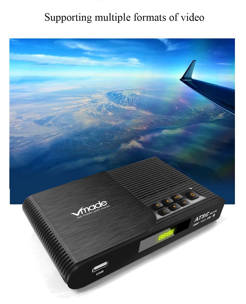 ATSC T terrestrial digital HD TV receiver work at USA Canada Mexico Korea tuner ATSC-T atsc t standard 19