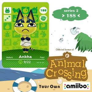 Nfc-Card Crossing-Series Animal Ankha Ns-Games Work 188