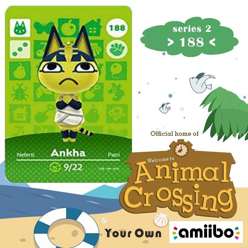 188 Animal Crossing Amiibo Card Ankha Amiibo Card Animal Crossing Series 2 Ankha Nfc Card Work For Ns Games Fast Shipping