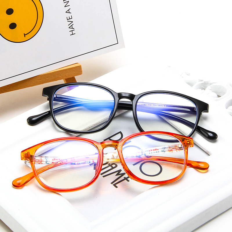 TR90 Anti-blue Light Kids Glasses Optical Frame Children Boy Girls Computer Transparent Blocking Anti Reflective Eyeglasses
