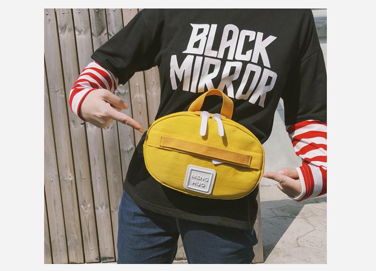 Menghuuo Waist Bag Women Fanny Packs Belt Bag Luxury Brand Nylon Chest Handbag 5 Colors 2018 New Fashion Hight Quality Waist Bag_32