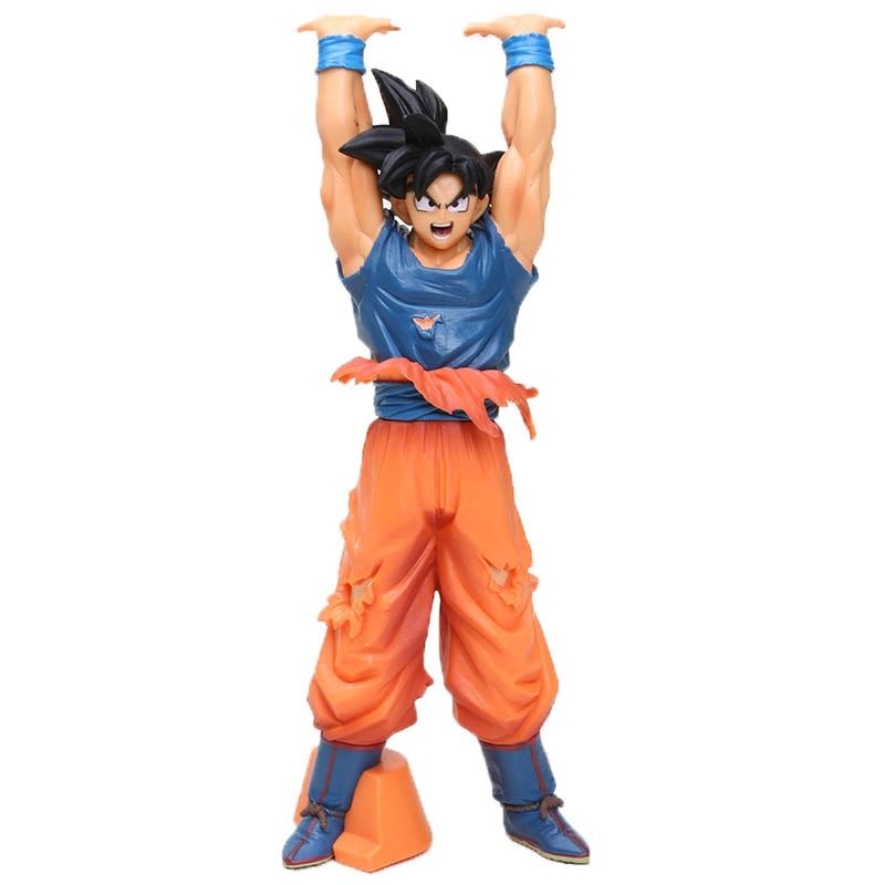 8-30 см Dragon Ball Z SCultures, большая серия Budoukai, фигурка из лазурита, наппа, радиц, Гоку, плавки, Вегета, сатана, Коллекционная модель - Цвет: 24cm goku opp