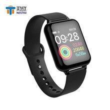 MATEYOU 1.3-inch Ips color screen intelligent sports bracelet Nrf52832 main control chip green light heart rate sensor