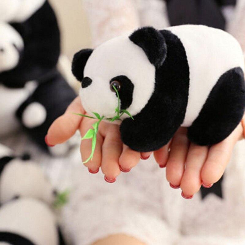 1PC Lovely Super Christmas Gift Pendant Toys Doll Big Panda Plush Toys Send Friend Children Cartoon Animals Toy Gift CX880617