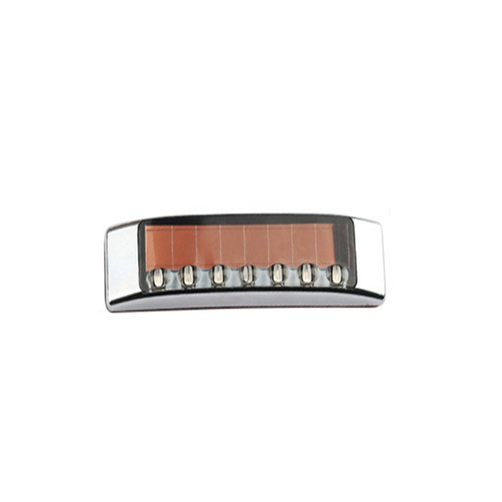 Solar Anti-Static Anti-Collision Light Led Multi-Function Warning Light Static Door Edge Glue Car Decoration Light