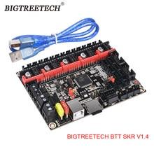Bigtreetech btt skr v1.4 btt skr v1.4 turbo 32 bit placa de controle atualização skr v1.3 tmc2208 tmc2209 driver para ender3 impressora 3d