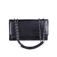 2019 PU Leather Women Messenger Bag Plaid Ladies Crossbody Bag Chain Trendy Flap Shopping Handbag Shoulder Bag Handle Bag недорого