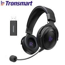 Tronsmart-auriculares inalámbricos Shadow para videojuegos, cascos de 2,4G con diadema cómoda para PS5, PS4, PC, PS4 Pro, Mac, Switch, Xbox