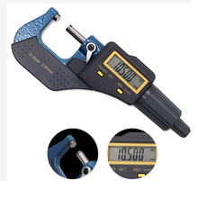 все цены на electronic outside micrometer 0-25 mm with Extra Large LCD Screen digital micrometer electronic Digital Caliper gauge NEW онлайн