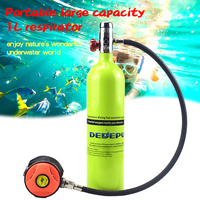DEDEPU outdoor equipment water sports equipment 1000ML diving oxygen tank underwater breathing apparatus