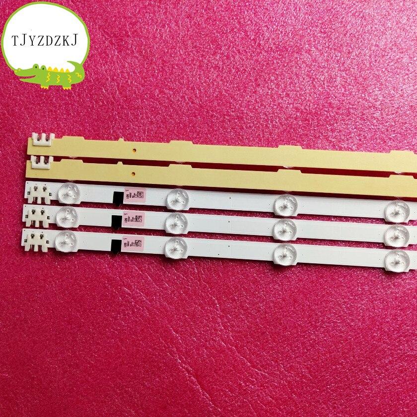 New Kit 5 Pieces 9 LEDs LED Strip For Samsung D2GE-320SC0-R3 BN96-25300A 26508A 25299A 2013SVS32H CY-HF320AGLV1H UE32F5300