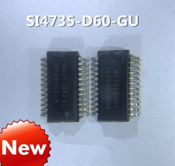 New  Original  5PCS~10PCS/LOT SI4735-D60-GUR SI4735-D60-GU 4735D60GU SSOP24