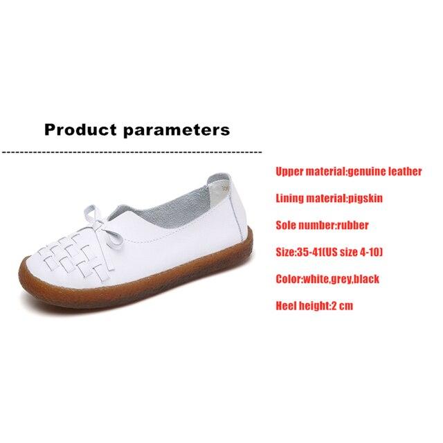 Купить туфли dongnanfeng женские из натуральной кожи белые лоферы без