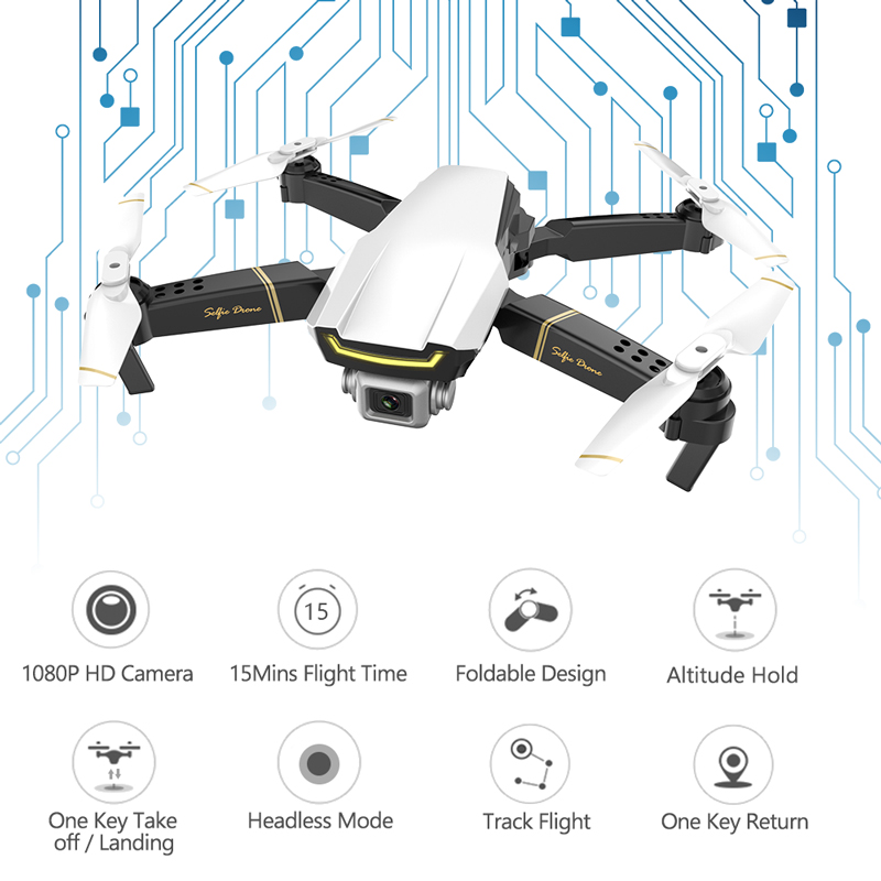 Global Drone GW89 Quadrocopter RC Helicopter Foldable WIFI FPV Dron Mini Drone X Pro RTF Drones with HD Camera VS E58 GD89 E520