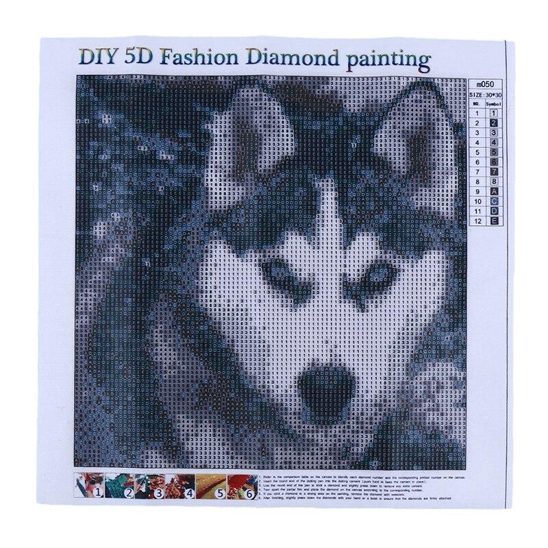 Полная Алмазная картина с изображением мультяшных животных, собак, сделай сам, алмазная вышивка для питомцев, собак, рукоделие, Алмазный