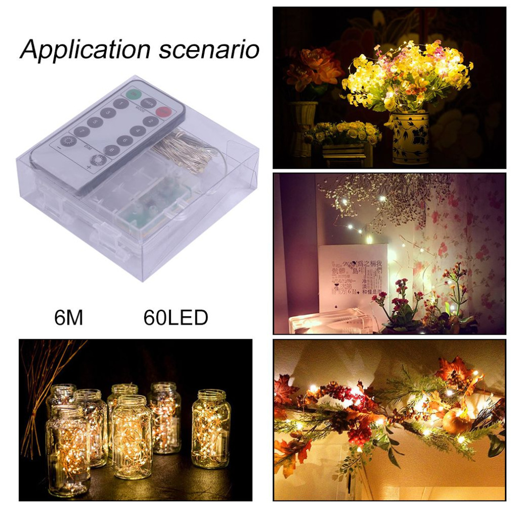 corda de fadas decoração festa natal iluminação