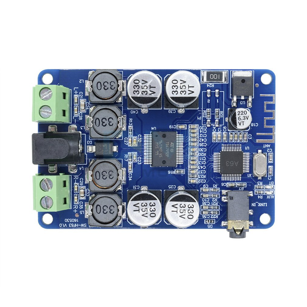Tda7492P Power Amplifier Board Csr4.0 Stereo Audio Receiving Power Amplifier Board
