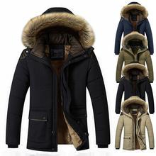 Down Jacket Men Winter Jacket Men Fashion Thick Warm Parkas Down