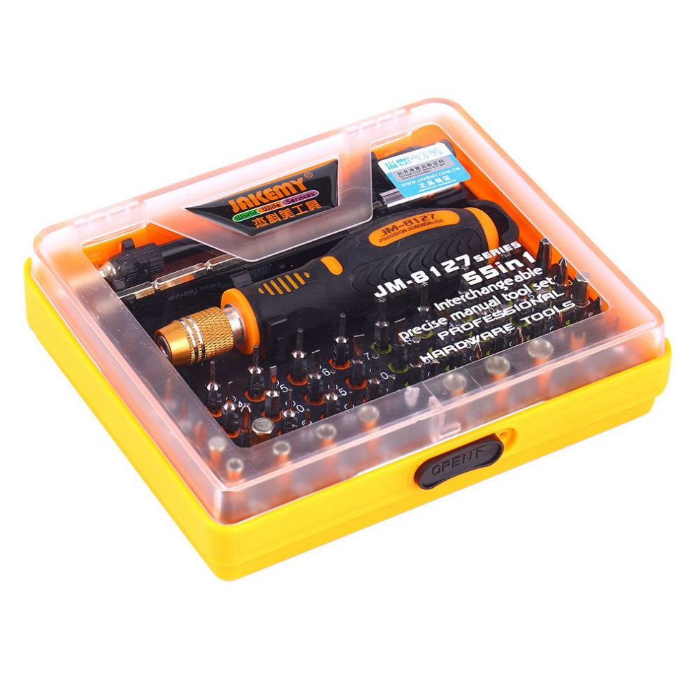53 In 1 Multi-purpose Precision Magnetic Screwdriver Set With Trox Hex Cross Flat Y Star Screw Driver For Phone Pc Free Shipping