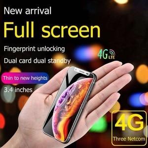 Image 3 - סופר מיני מלרוז 2019 4G Lte הקטן Smartphone 3.4 MTK6739 Quad Core אנדרואיד 8.1 טביעות אצבע נייד