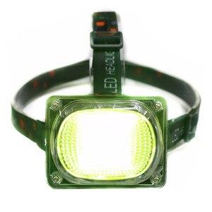 Image 3 - COB Làm Đèn Pha LED Cắm Trại Đèn Pin Đèn Sạc USB Đèn Pha Đỏ Xanh Trắng Chế Độ Ánh Sáng Use18650 Pin Chiếu Sáng Đèn Pin