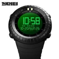 De moda de deporte Digital Reloj de los hombres de la marca de relojes contar cronómetro reloj de luz Led reloj electrónico hombres Original hora