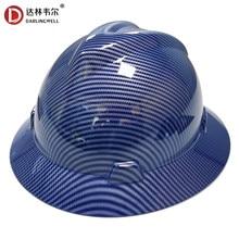 Capacete de proteção ao ar livre do tampão do trabalho do chapéu duro da borda completa para a construção railway metalurgia mina tráfego estrada trabalho