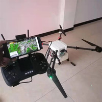 10L Uninhabited Machine 4axis 10L Agricultural dron Spraying UAV RC drone empty Carbon Fiber Frame Mist Agriculture Machine