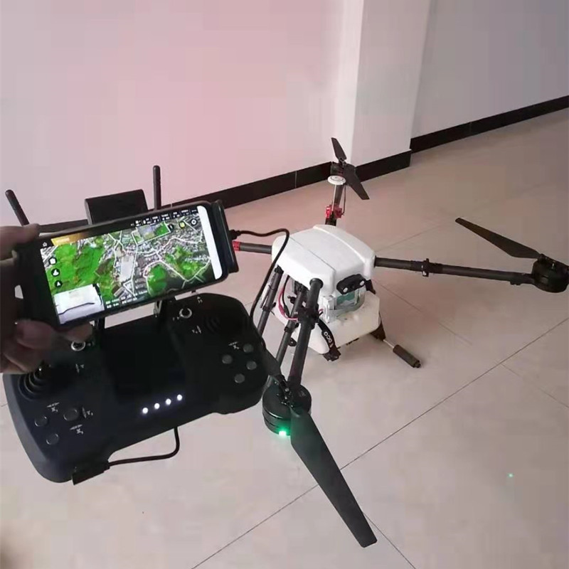 10L Uninhabited Machine 4axis 10L Agricultural dron Spraying UAV RC drone empty Carbon Fiber Frame Mist Agriculture Machine image