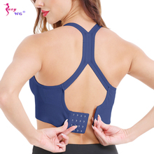 SEXYWG Women Push Up Sports Bra Workout Yoga Tops Crop Fitness Active Wear For R