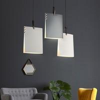Noridc 디자인 철 led 펜 던 트 조명 현대 거실 부엌 책 매달려 램프 luminaire 홈 장식 산업 전등 인테리어 라이트    -