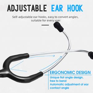 Image 5 - Professional Heart Lung Cardiology Stethoscope Medical Dual Head Doctor Stethoscope Doctor Medical Equipment Device Estetoscopio