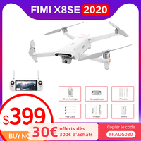 FIMI-Dron profesional X8SE 2020 con cámara, cuadricóptero de control remoto con 3 ejes, 4K, GPS, 8KM, 35 minutos de tiempo de vuelo, en stock, almacén de Rusia