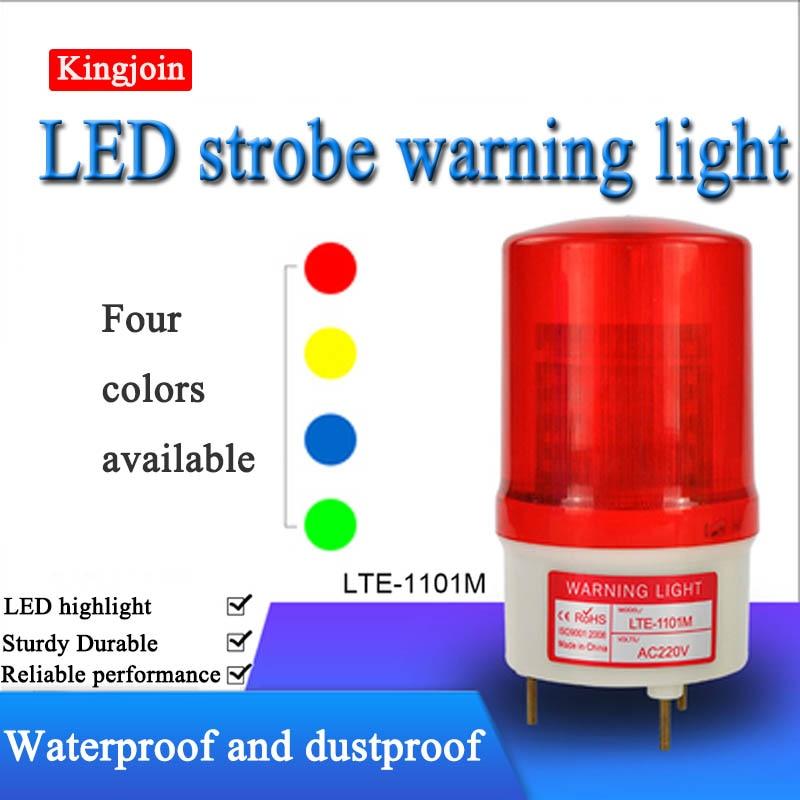 Newest outdoor LED strobe light flashing lamp blinker alarm light emergency beacon for shutter door gate opener motors(no sound)