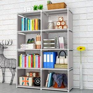 Image 2 - GIANTEX kitaplık depolama raf için kitap çocuk kitap rafı kitaplık ev mobilya Boekenkast Librero estanteria kitaplik