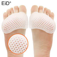 EiD Silicone Insoles Forefoot Pads for Women High Heel Shoes Foot Blister Care Toes Insert Pad Honeycomb Gel Insole Pain Relief