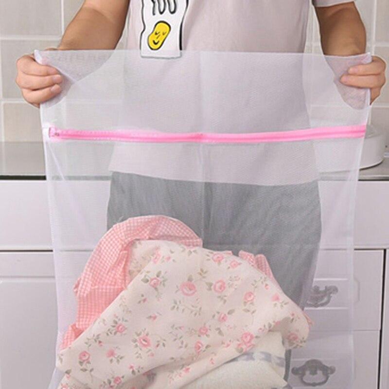 Clothes Washing Machine Laundry Bra Aid Lingerie Mesh Net Wash Bag Pouch Basket Femme 3 Sizes