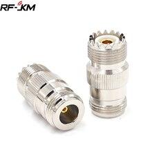 N Тип Женский UHF SO239 PL-259 женский RF коаксиальный разъем адаптера
