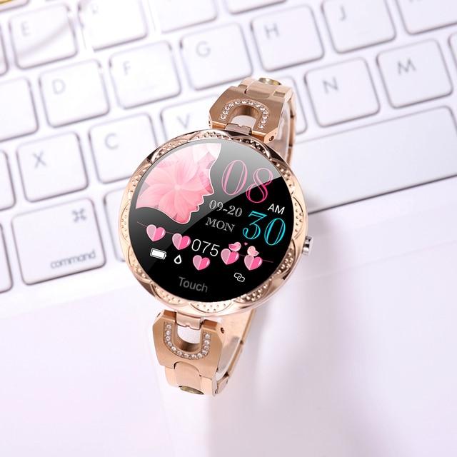 Γυναικείο smart watch για android και ios