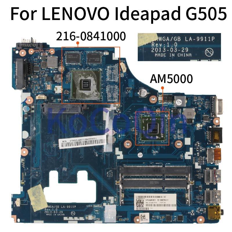 KoCoQin материнская плата для ноутбука LENOVO Ideapad G505 A4 5000 материнская плата VAWGA/GB LA 9911P AM5000 CPU 216 0841000 Материнские платы для ноутбуков      АлиЭкспресс