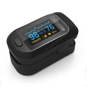 Image 2 - Медицинский Oled Пульсоксиметр SPO2 медицинский портативный кислород для крови с пульсоксиметром дыхания подходит для семьи