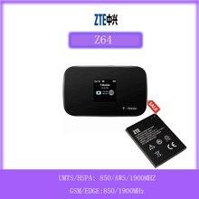 ZTE Z64 | Mobile Wifi Hotspot 4G Router MF64 | Bis zu 21Mbps Download Geschwindigkeit | Bis zu 8 verbunden geräte | Schaffen EINE WLAN Überall