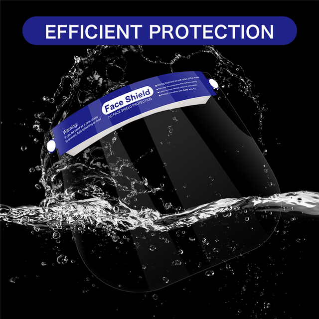 Anti Saliva Splash Dust-proof Face Shield Head-mounted HD Transparent Protect Mask Adjustable Protective Masks Full Face Masker 1