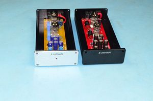 Image 1 - X 10D 2.0 original circuit HiFi 6N11 tube buffer audio signal tube preamplifier With AC12V power adapter
