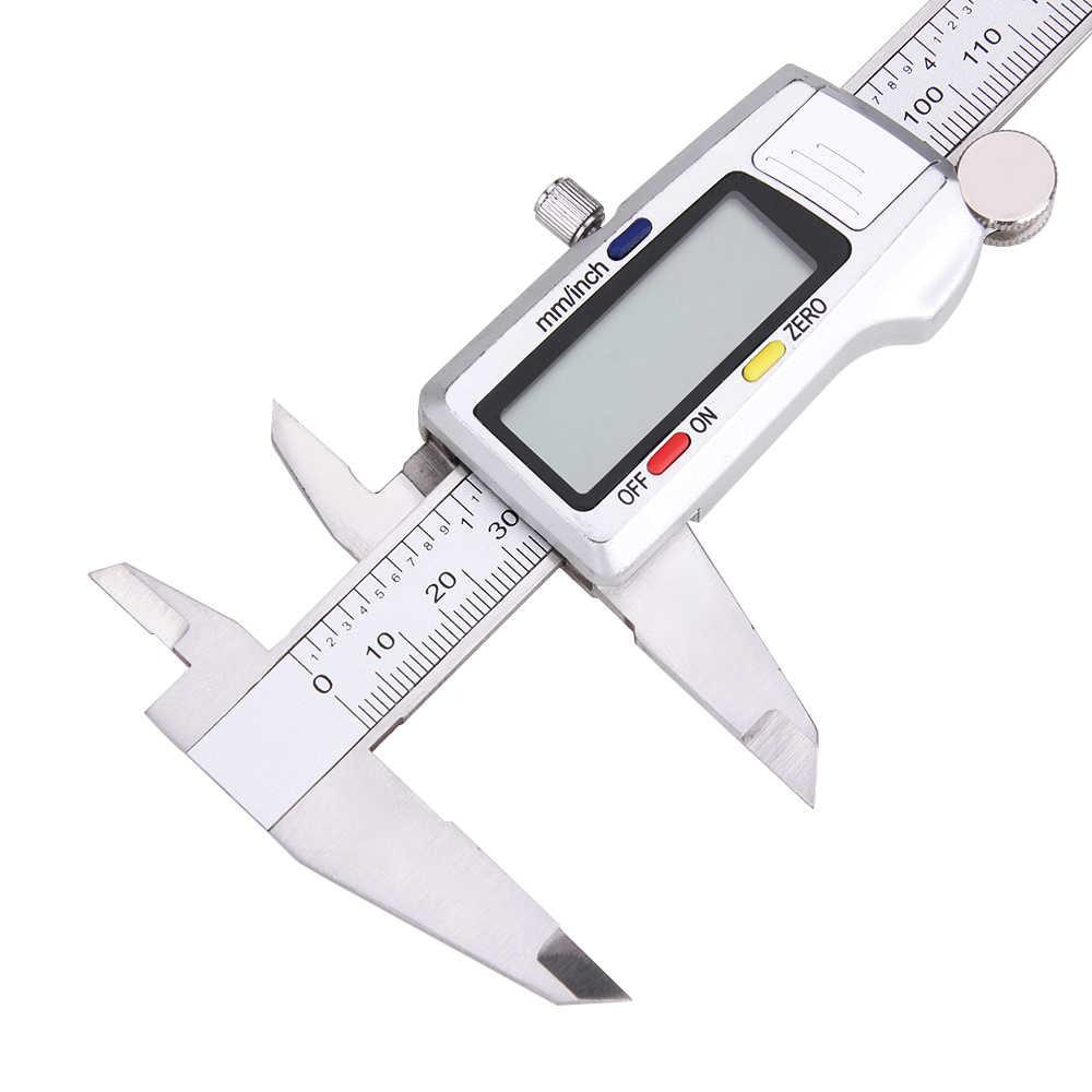 Vastar 150 مللي متر الورنية الفرجار أداة قياس الفولاذ المقاوم للصدأ فرجار رقمي 6 بوصة أداة قياس المسطرة الرقمية