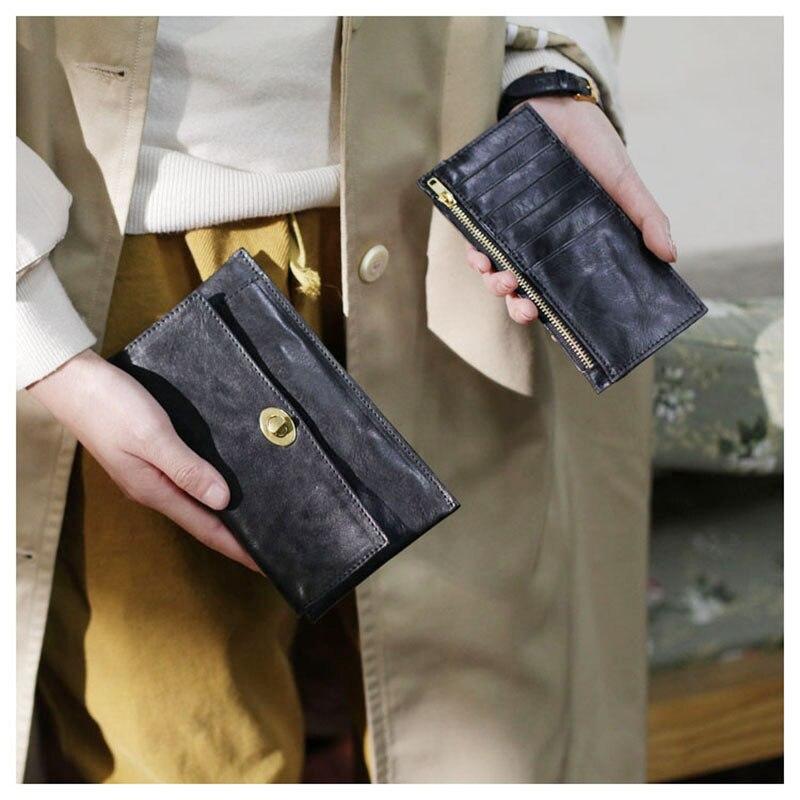 saco de cartão, senhoras minimalista ultra-fino carteira