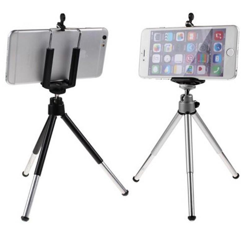 Unique Design Phone Holder Stand Accessory Aluminum Alloy Phone Holder  Tripod Mount